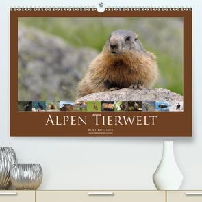 Alpen Tierwelt (Premium, hochwertiger DIN A2 Wandkalender 2021, Kunstdruck in Hochglanz) von Tappeiner,  Kurt