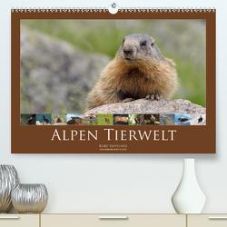 Alpen Tierwelt (Premium, hochwertiger DIN A2 Wandkalender 2020, Kunstdruck in Hochglanz) von Tappeiner,  Kurt