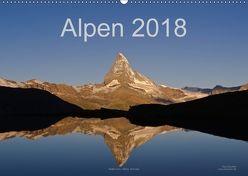 Alpen (Wandkalender 2018 DIN A2 quer) von Dauerer,  Jörg