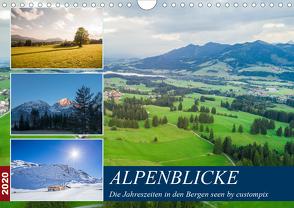 Alpenblicke (Wandkalender 2020 DIN A4 quer) von custompix.de