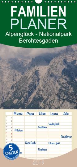 Alpenglück – Nationalpark Berchtesgaden – Familienplaner hoch (Wandkalender 2019 , 21 cm x 45 cm, hoch) von von Düren,  Alexander
