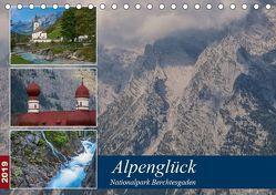 Alpenglück – Nationalpark Berchtesgaden (Tischkalender 2019 DIN A5 quer) von von Düren,  Alexander