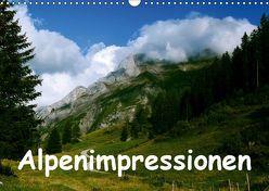 Alpenimpressionen, Region Schweiz/Frankreich (Wandkalender 2019 DIN A3 quer) von HM-Fotodesign