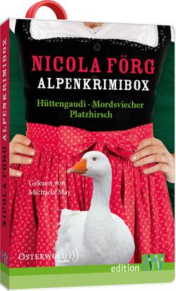Alpenkrimibox von Förg,  Nicola, May,  Michaela