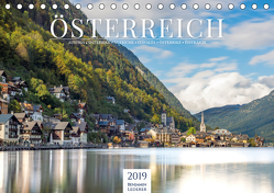 Alpenland Österreich (Tischkalender 2019 DIN A5 quer) von Lederer,  Benjamin