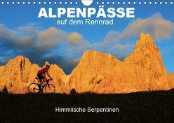 """Alpenpässe auf dem Rennrad """"Himmlische Serpentinen"""" (Wandkalender 2019 DIN A4 quer) von Rotter,  Matthias"""