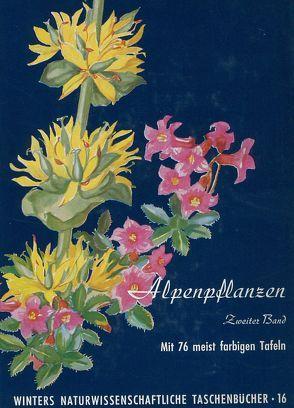 Alpenpflanzen von Rauh,  Werner