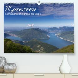 Alpensee – Landschaften im Kontrast der Berge (Premium, hochwertiger DIN A2 Wandkalender 2020, Kunstdruck in Hochglanz) von Schonnop,  Juergen