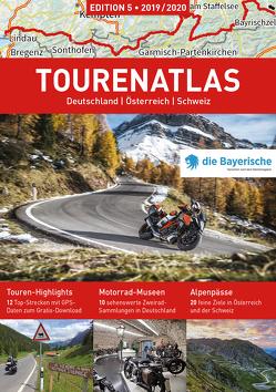 ALPENTOURER TOURENATLAS von Fennel,  Stephan