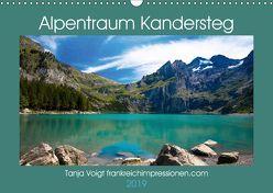 Alpentraum Kandersteg (Wandkalender 2019 DIN A3 quer) von Voigt,  Tanja