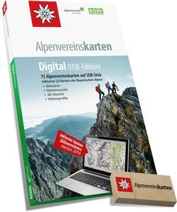 Alpenvereinskarten Digital (Version 4) von Deutscher Alpenverein e.V., Oesterreichischer Alpenverein