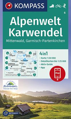 Alpenwelt Karwendel Mittenwald, Garmisch-Partenkirchen von KOMPASS-Karten GmbH