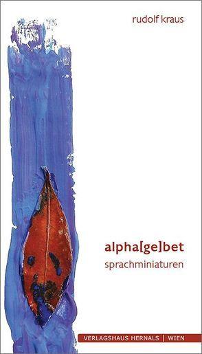 alpha(ge)bet von Kraus,  Rudolf