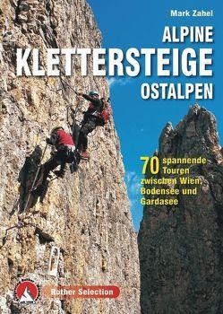 Alpine Klettersteige Ostalpen von Zahel,  Mark