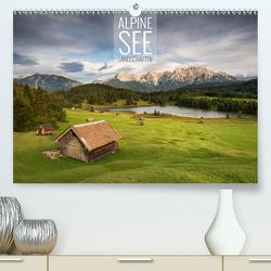 Alpine Seelandschaften (Premium, hochwertiger DIN A2 Wandkalender 2021, Kunstdruck in Hochglanz) von Bremser,  Christian