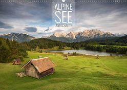 Alpine Seelandschaften (Wandkalender 2019 DIN A2 quer) von Bremser,  Christian