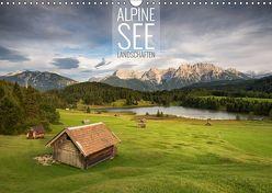 Alpine Seelandschaften (Wandkalender 2019 DIN A3 quer) von Bremser,  Christian