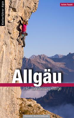 Alpinkletterführer Allgäu von Pasold,  Achim