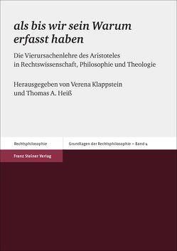 """""""als bis wir sein Warum erfasst haben"""" von Heiß,  Thomas A., Klappstein,  Verena"""