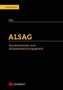 ALSAG Taschenkommentar von List,  Wolfgang