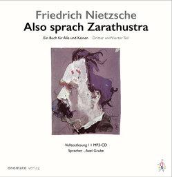 Also sprach Zarathustra. von Grube,  Axel, Nietzsche,  Friedrich