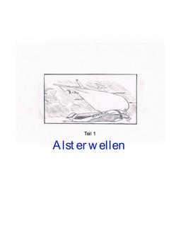 Alsterwellen Teil1 von Gerth,  Peter Künstlername:Pizeko