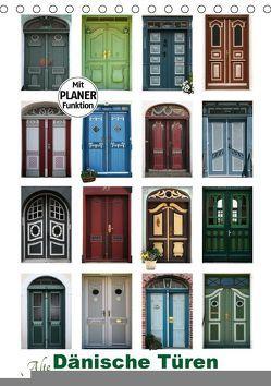 Alte Dänische Türen (Tischkalender 2018 DIN A5 hoch) von Carina-Fotografie,  k.A.