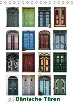 Alte Dänische Türen (Tischkalender 2019 DIN A5 hoch) von Carina-Fotografie