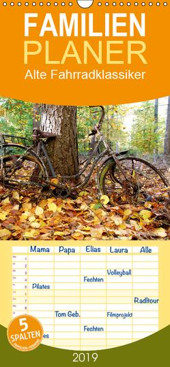 Alte Fahrradklassiker – Familienplaner hoch (Wandkalender 2019 , 21 cm x 45 cm, hoch) von Herms,  Dirk