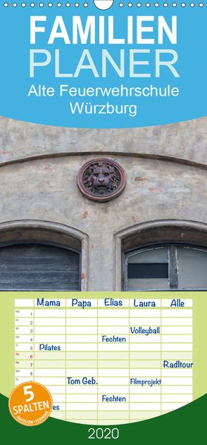 Alte Feuerwehrschule Würzburg – Familienplaner hoch (Wandkalender 2020 , 21 cm x 45 cm, hoch) von Will,  Hans