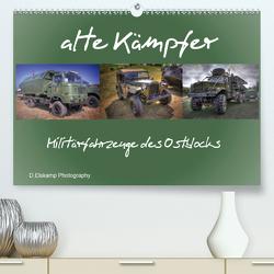 alte Kämpfer- Militärfahrzeuge des Ostblocks (Premium, hochwertiger DIN A2 Wandkalender 2021, Kunstdruck in Hochglanz) von Elskamp- D.Elskamp Photography-Photodesign,  Danny