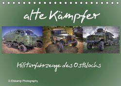 alte Kämpfer- Militärfahrzeuge des Ostblocks (Tischkalender 2019 DIN A5 quer) von Elskamp- D.Elskamp Photography-Photodesign,  Danny