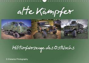 alte Kämpfer- Militärfahrzeuge des Ostblocks (Wandkalender 2018 DIN A3 quer) von Elskamp- D.Elskamp Photography-Photodesign,  Danny