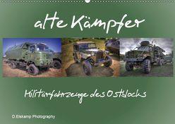 alte Kämpfer- Militärfahrzeuge des Ostblocks (Wandkalender 2019 DIN A2 quer) von Elskamp- D.Elskamp Photography-Photodesign,  Danny
