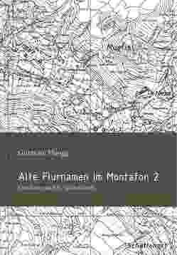 Alte Montafoner Flurnamen 2: Gaschurn und St. Gallenkirch von Kasper,  Michael, Plangg,  Guntram