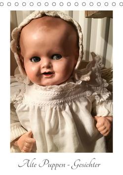 Alte Puppen – Gesichter (Tischkalender 2020 DIN A5 hoch) von WEIBKIWI