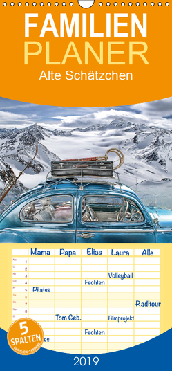 Alte Schätzchen – Familienplaner hoch (Wandkalender 2019 , 21 cm x 45 cm, hoch) von G. Pinkawa / Jo.PinX,  Joachim
