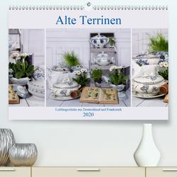 Alte Terrinen Lieblingsstücke aus Deutschland und Frankreich (Premium, hochwertiger DIN A2 Wandkalender 2020, Kunstdruck in Hochglanz) von Reiß-Seibert,  Marion