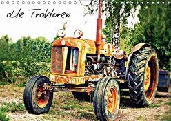 alte Traktoren (Wandkalender 2018 DIN A4 quer) von tinadefortunata,  k.A.