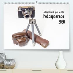 Alte und nicht ganz so alte Fotoapparate (Premium, hochwertiger DIN A2 Wandkalender 2020, Kunstdruck in Hochglanz) von Rohwer,  Klaus