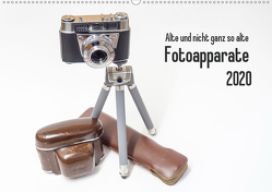 Alte und nicht ganz so alte Fotoapparate (Wandkalender 2020 DIN A2 quer) von Rohwer,  Klaus
