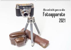 Alte und nicht ganz so alte Fotoapparate (Wandkalender 2021 DIN A2 quer) von Rohwer,  Klaus