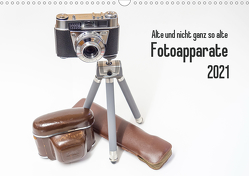 Alte und nicht ganz so alte Fotoapparate (Wandkalender 2021 DIN A3 quer) von Rohwer,  Klaus