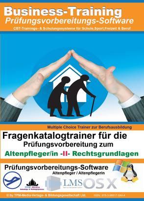 Altenpfleger/in II – Rechtsgrundlagen Fragenkatalogtrainer von Mueller,  Thomas