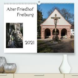 Alter Friedhof Freiburg (Premium, hochwertiger DIN A2 Wandkalender 2021, Kunstdruck in Hochglanz) von Muehlbacher,  Joerg