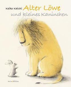 ALTER LÖWE UND KLEINES KANINCHEN von KAICHI,  KEIKO