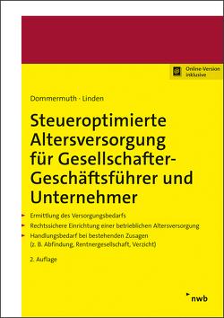 Altersversorgung für Unternehmer und Geschäftsführer von Dommermuth,  Thomas, Linden,  Ralf