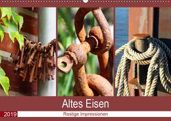 Altes Eisen. Rostige Impressionen (Wandkalender 2019 DIN A2 quer) von Lehmann,  Steffani