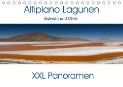 Altiplano Lagunen. Bolivien und Chile – XXL Panoramen (Tischkalender 2018 DIN A5 quer) von Schonnop,  Juergen