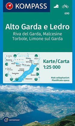 Alto Garda e Ledro, Riva del Garda, Malcesine, Torbole, Limone sul Garda von KOMPASS-Karten GmbH